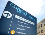 Panneau Clinique Sainte Marie